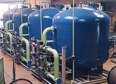 Turnkey Systems Water Treatment Systems Pressure Vessels